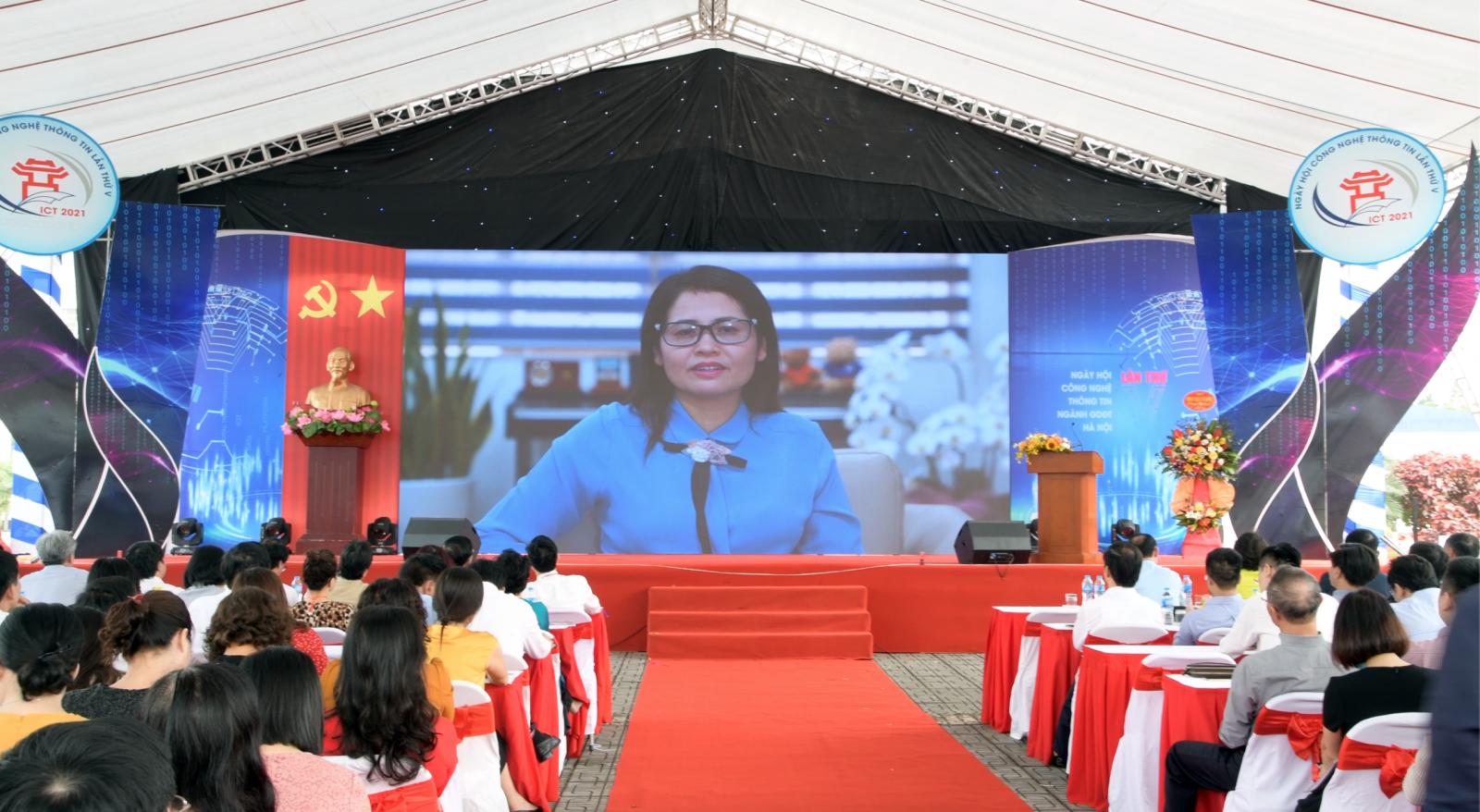 Trường Nguyễn Siêu đạt nhiều giải thưởng tại ngày hội CNTT ngành GD-ĐT Hà Nội
