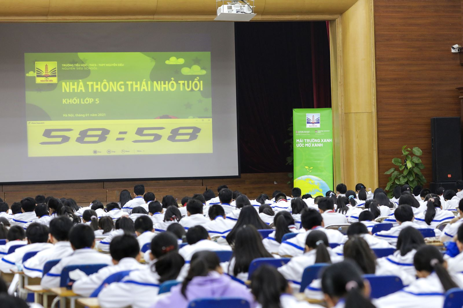 Cuộc thi dành cho những nhà thông thái khối 4, 5