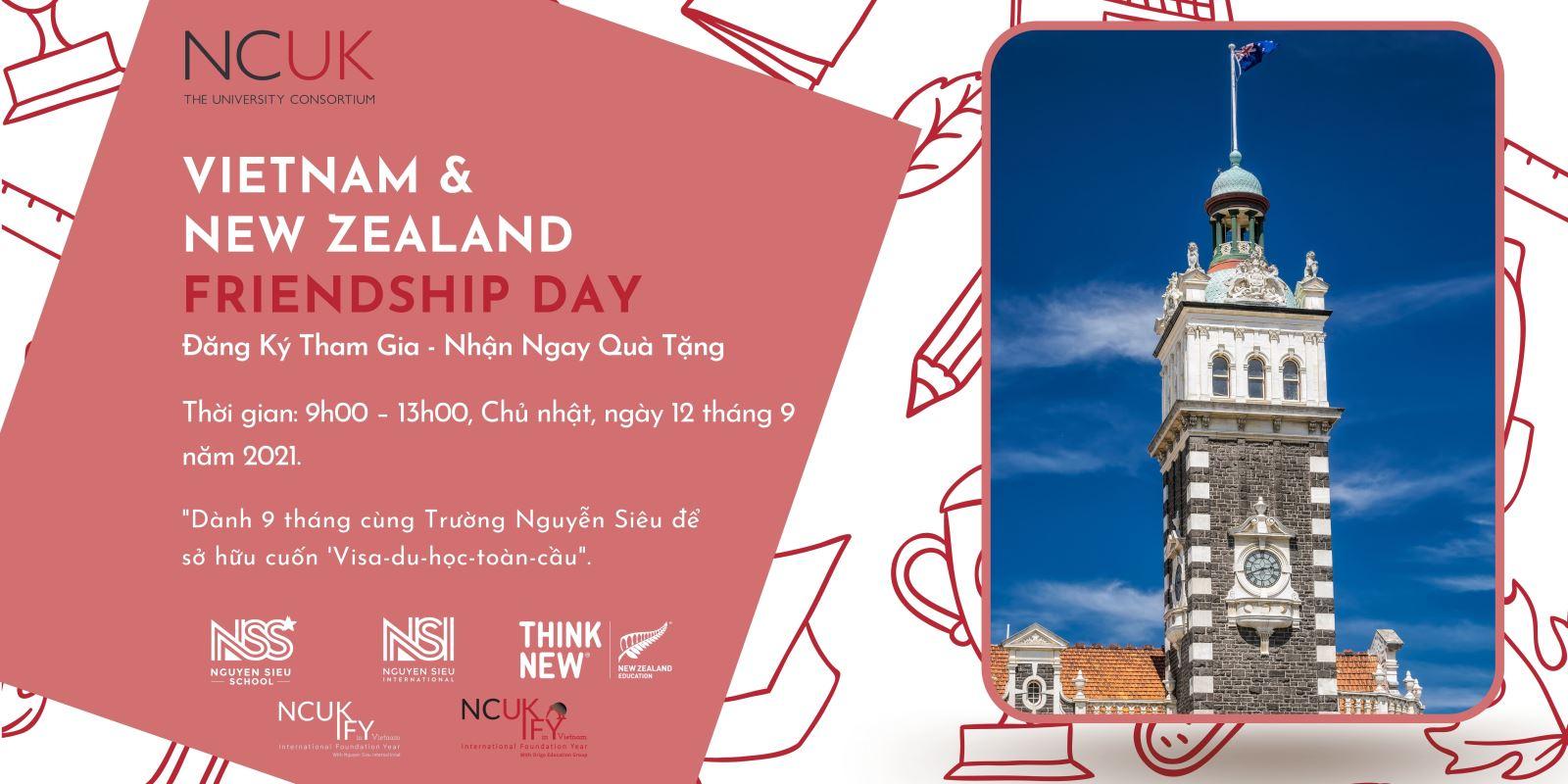 Ngày hội Friendship Day Việt Nam - New Zealand: cơ hội học bổng cho du học sinh