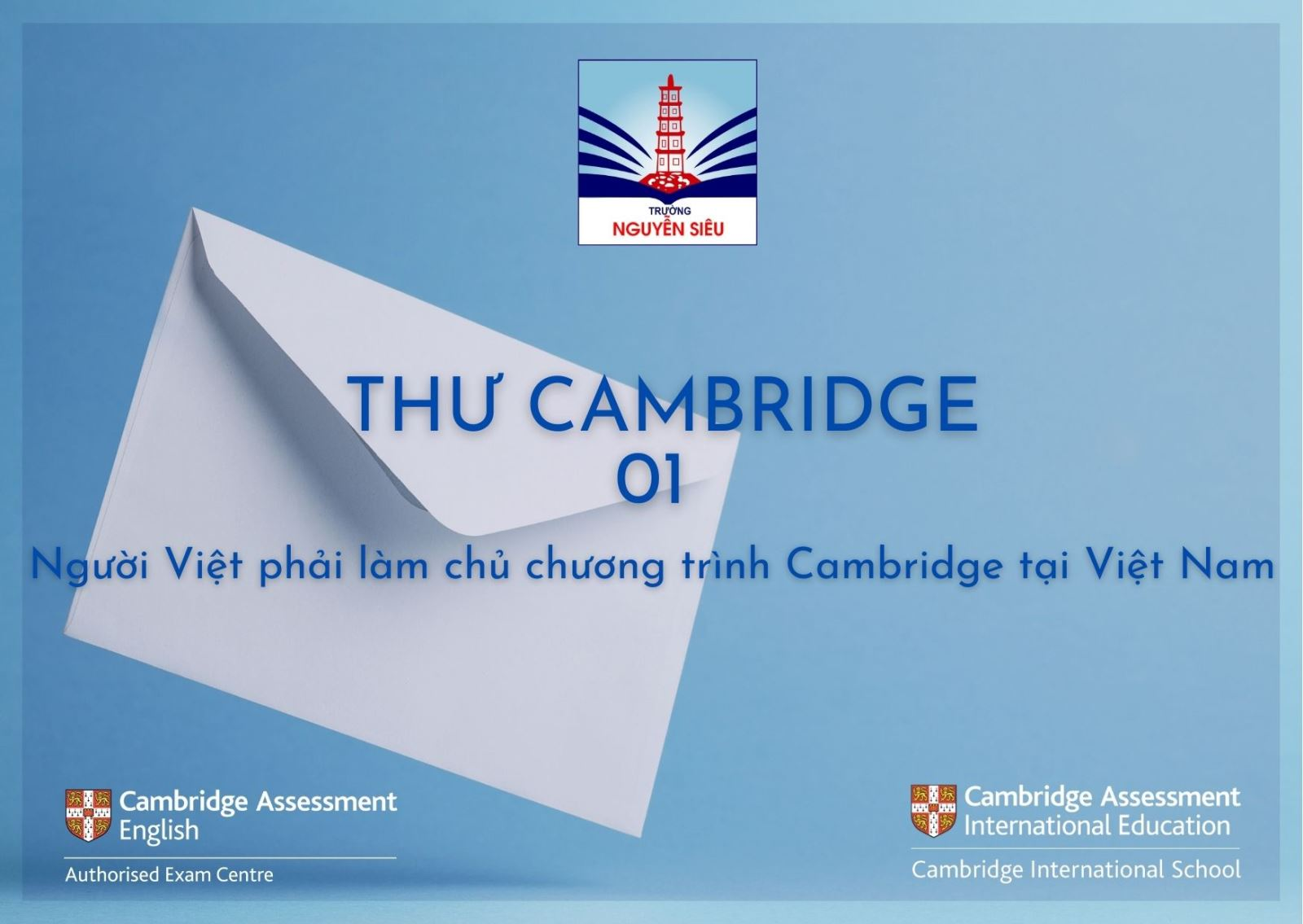 Người Việt phải làm chủ chương trình Cambridge tại Việt Nam
