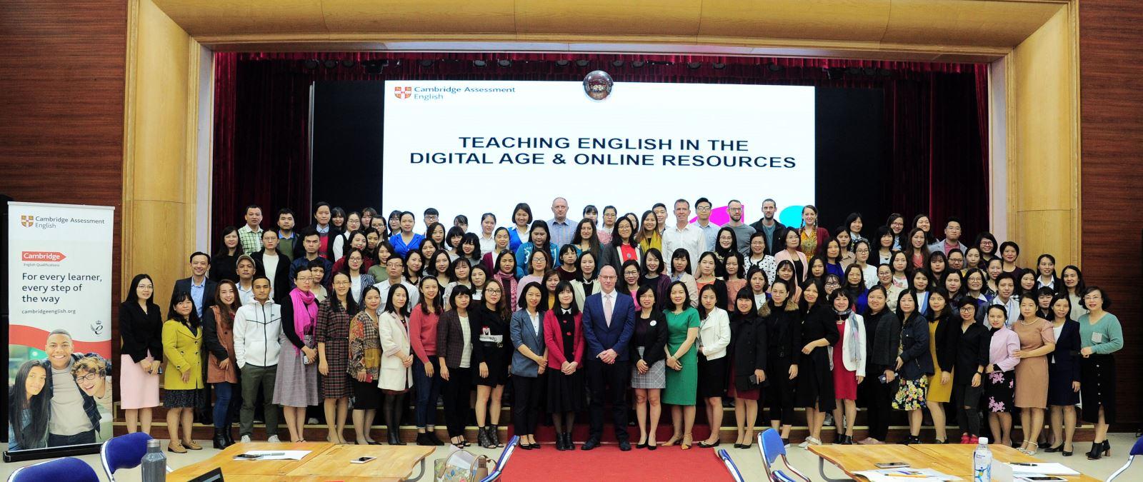 Cambridge tổ chức tập huấn cho giáo viên các trung tâm tại Hà Nội
