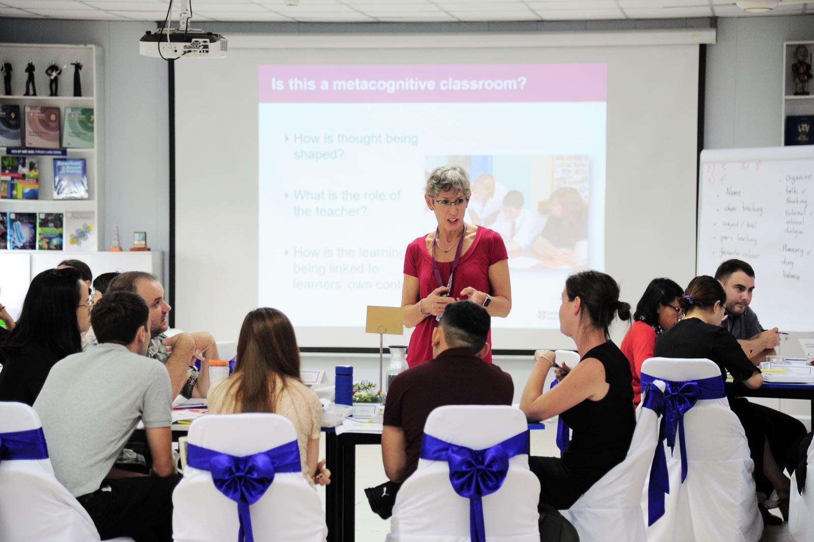 Hai workshop Cambridge quốc tế tổ chức thành công tại Nguyễn Siêu