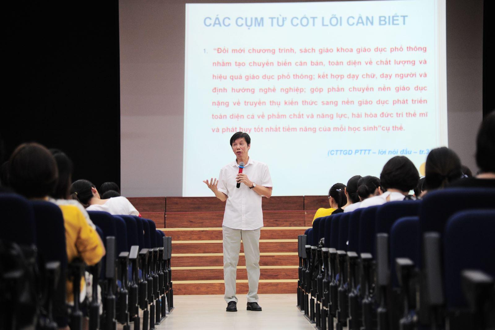 Quận Cầu Giấy tổ chức chuyên đề bồi dưỡng giáo viên tại trường Nguyễn Siêu