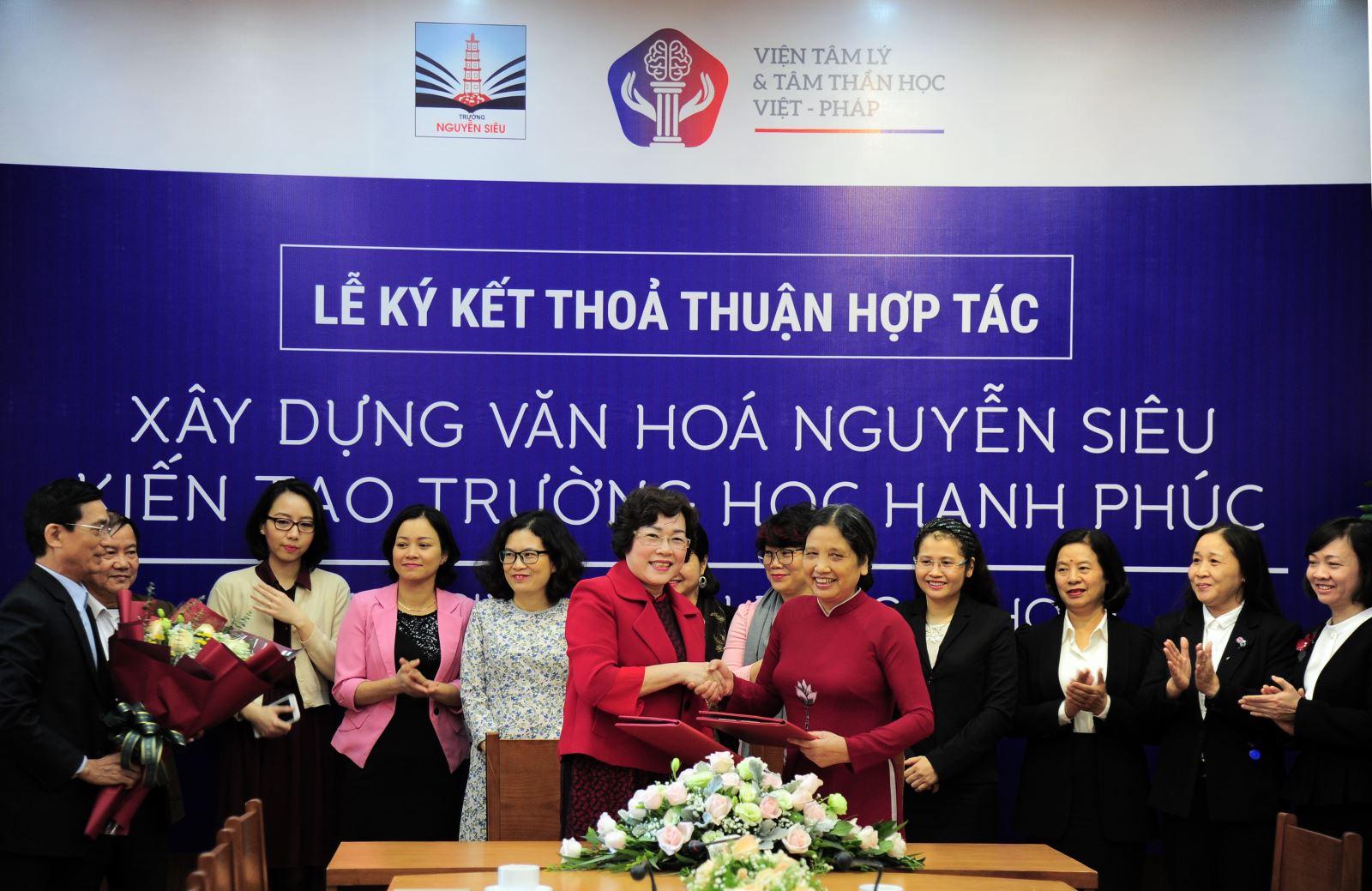 Xây dựng văn hóa Nguyễn Siêu - Kiến tạo trường học hạnh phúc